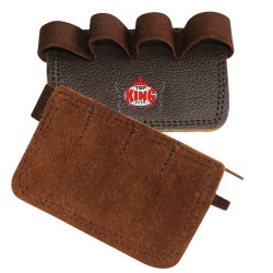 TOP KING GEAR LEATHER TRAINING & WEIGHT LIFTING GRIPS