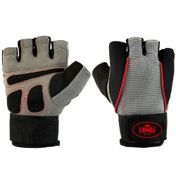 Weightlifting Fitness Training Gym Gloves;-