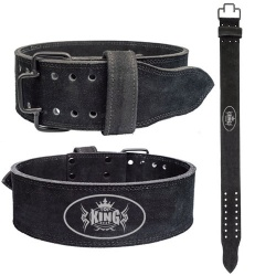 Leather PowerLifting Belt;-