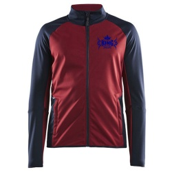 SOFT SHELL CONTRAST COLOR JACKET:-