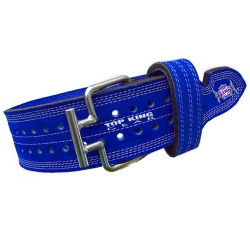Power Weight Lifting Leather Belt