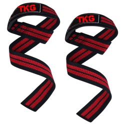 TOP KING GEAR Padded Weight Lifting Gym Straps