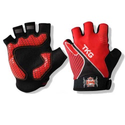 Custom Made Printed Cycling Gloves
