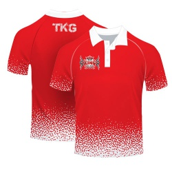 100 Polyester Sublimated Polo T Shirts