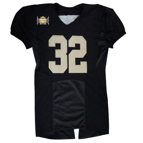 03865fc93 Black Custom American Football Jerseys