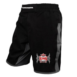 Black MMA Shorts/  Grappling MMA Shorts