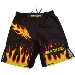 Custom Sublimation Dragon MMA Shorts By Top King Gear