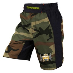 Camo Design Of Sublimation MMA Fight Shorts