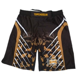 Full Sublimated Top King Gear Design MMA Shorts