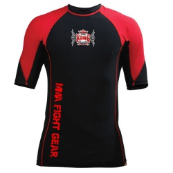 Custom Short Sleeve MMA Rash Guards