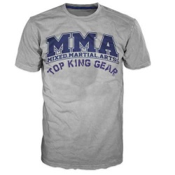 100% Cotton MMA Fight Short Sleeve T Shirts/ MMA Clothing