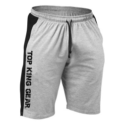 100 Cotton Jersey Gym Shorts With Pockets