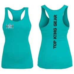 Womens 100 Cotton Fitness Gym Tank Tops