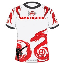 Sublimated MMA T Shirts