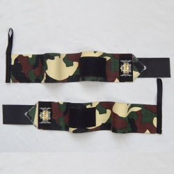 Camo Printed Weight Lifting Wrist Wraps