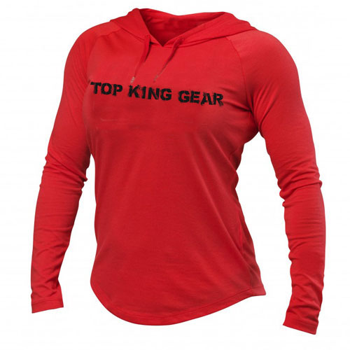 women cotton hoodie top king gear