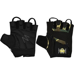 CAMO WEIGHTLIFTING GYM GLOVES